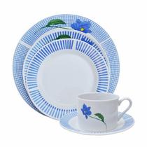 Juego De Platos X 20 Piezas Porcelana