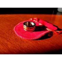 ed5282bfb1d7 Anillo Oro 18 Kilates 19mm Alianza Combinado Mujer Hombre en venta ...