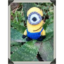 Minions Llaveros, Souvenirs Tejido Crochet Artesanal