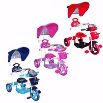 Triciclo Infantil - Musical + Luces + Juguete + Manija Dir.