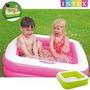 Pileta Con Piso Inflable Intex Ideal Balcon Bebe Cordoba
