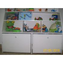 Baúl Para Juguetes, Organizador Infantil, Mueble De Melamina