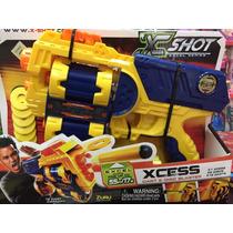 Pistola X-shot Xcess Dardos Y Discos