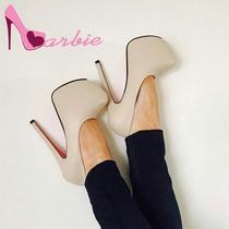Zapatos Importados Clásicos Tipo Stiletto