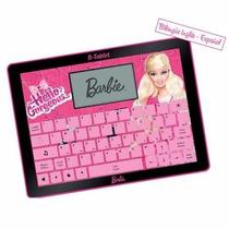 Barbie B-tablet Didáctica Bilingüe 80 Actividades