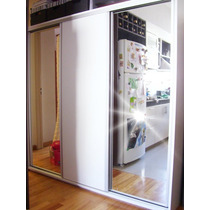 Placard 190x182x055 3 Puertas Con Perfileria De Aluminio