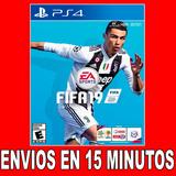 Fifa 19 Ps4 Digital Latino 45% Off