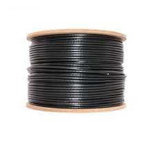 Bobina Cable Utp Exterior Cat 5e Doble Vaina 305mts