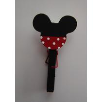 Mickey Souvenir Broche C/ Iman -
