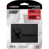 Disco Ssd 480 Gb Kingston A400  Estado Solido Sata3 Gamer