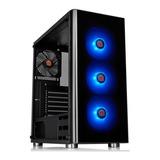Gabinete Gamer Thermaltake V200 Rgb Vidrio Templado