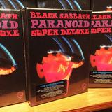 Black Sabbath Paranoid Deluxe Box 4cd W/book Box Set