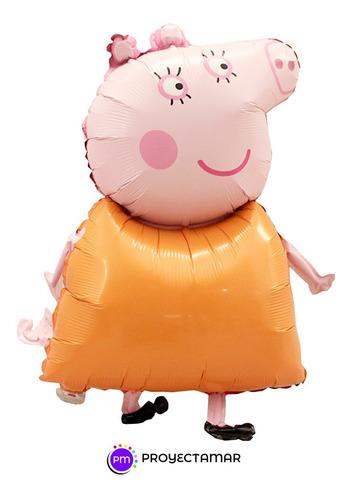 Globo Figura Mama De Peppa Pig,