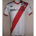 Camiseta De River Titular 2013/14 Talle M Original Subasta!
