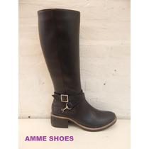 Botas De Montar.borcegos.bucaneras.invierno 2016 Amme Shoes