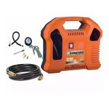 Compresor De Aire Sin Aceite Ecologico Lusqtoff 1000w Lc-883
