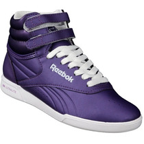 Zapatilla Rebook Botita Modelo Ultra Freestyle Violeta