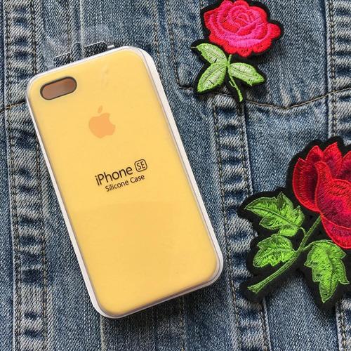 ff138aae250 Funda iPhone 5/5s/se. Silicone Case. Apple. Amarilla