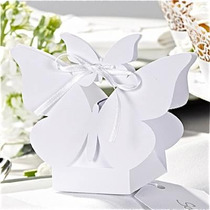 Cajitas Sourvenirs De Casamiento Mariposa