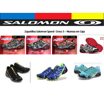 Zapatillas Salomon Speedcross 3 En Caja Original!!!