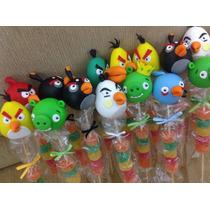Angry Birds Brochette Souvenirs En Porcelana Fria