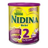 Leche De Fórmula En Polvo Nestlé Nidina 2 En Lata De 800g
