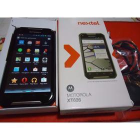 Motorola Nextel Iron Rock Xt626 Nuevo A Estrenar Y Libre