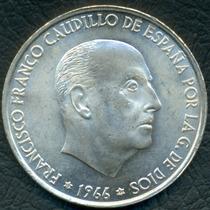 Moneda España 1966 (66) 100 Pesetas Km#797 (plata)