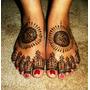 Henna En Pasta Para Tatuajes Temporales Imp. India