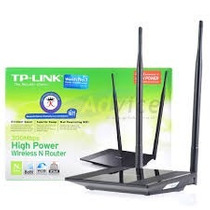 Router Wireless Tp-link Tl-wr841hp Antena 9dbi + Potencia