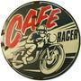 Carteles Antiguos 40cm Chapa Gruesa Motos Café Racer A-021