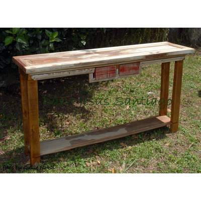 Espectacular recibidor mesa de arrime puerta antigua 4 - Mesas de recibidor antiguas ...