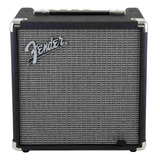 Amplificador Fender Rumble 15 Transistor 15w Negro Y Plata 220v