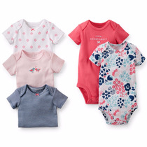 Carters Bodies M/ Corta Original Pack X 5 Nena Super Oferta