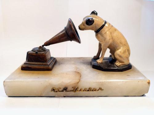 Rca Victor Nipper Perro Mascota/gramófono, Vitrola Rarísima