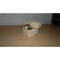 Cofre Del Tesoro De Ceramica Para Acuarios