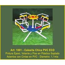 Juego Plaza Aire Libre Calesita Chica De Pvc Eco Mf1001