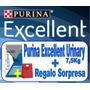 Purina Excellent Urinary Gatos 7,5kg + Regalo, Envio Gratis