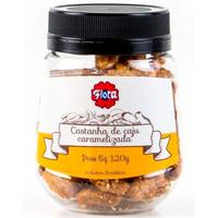 Castanha de Caju Premium Caramelizada Gergelim 120g - Flora