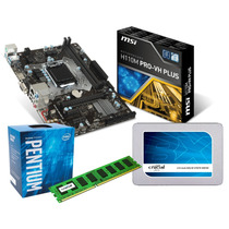Combo Intel G4560 4 Hilos + Motherboard + 4gb Ddr4 + Ssd 120