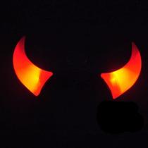 Cotillon Vinchas Luminosas Led Diabla Roja. Promo X 10 Uni.