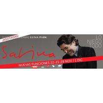 Joaquin Sabina Entradas Todas Las Fechas Plateas Vip!!!