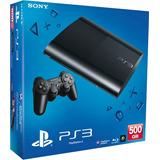 Playstation 3 Super Slim 500gb Garantia Joystick Dual Shock
