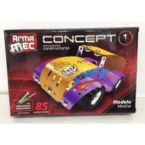 Armamec Concept Tipo Mecano 85 Piezas C/herramientas Verdade