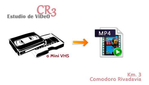 Pasar Cassette Vhs A Mp4 O Dvd 2 Horas Video En Alta Calidad