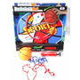 Aro Basket Basquet Infantil C/tablero Pelota Inflador Oferta