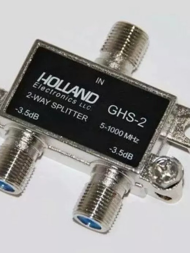 Derivador Splitter De Señal Holland Ghs-3 X2 X3 Salidas