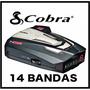Detector De Radar Cobra Xrs888 Xtreme Range Unica 14 Bandas