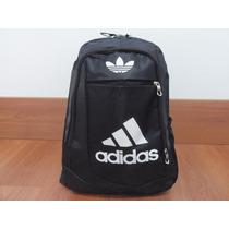Mochila Deportiva Adidas Negra Super Oferta!!!!