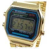 Reloj Kosiuko Vintage Retro Unisex Rose Plateado Dorado Ksk!